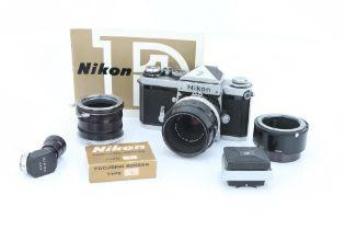 A Nikon F SLR Camera,