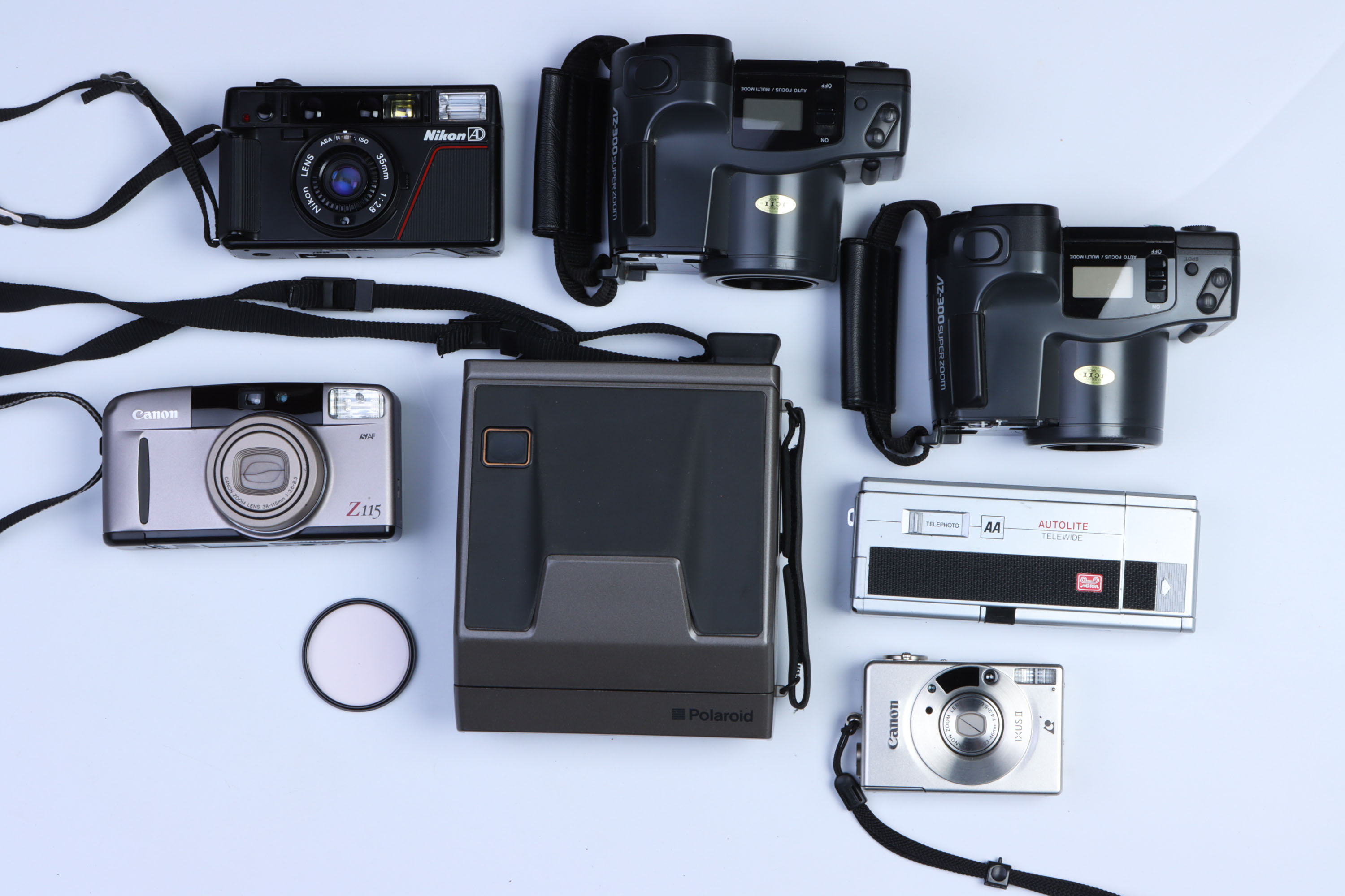 A Small Selection of Various Cameras,