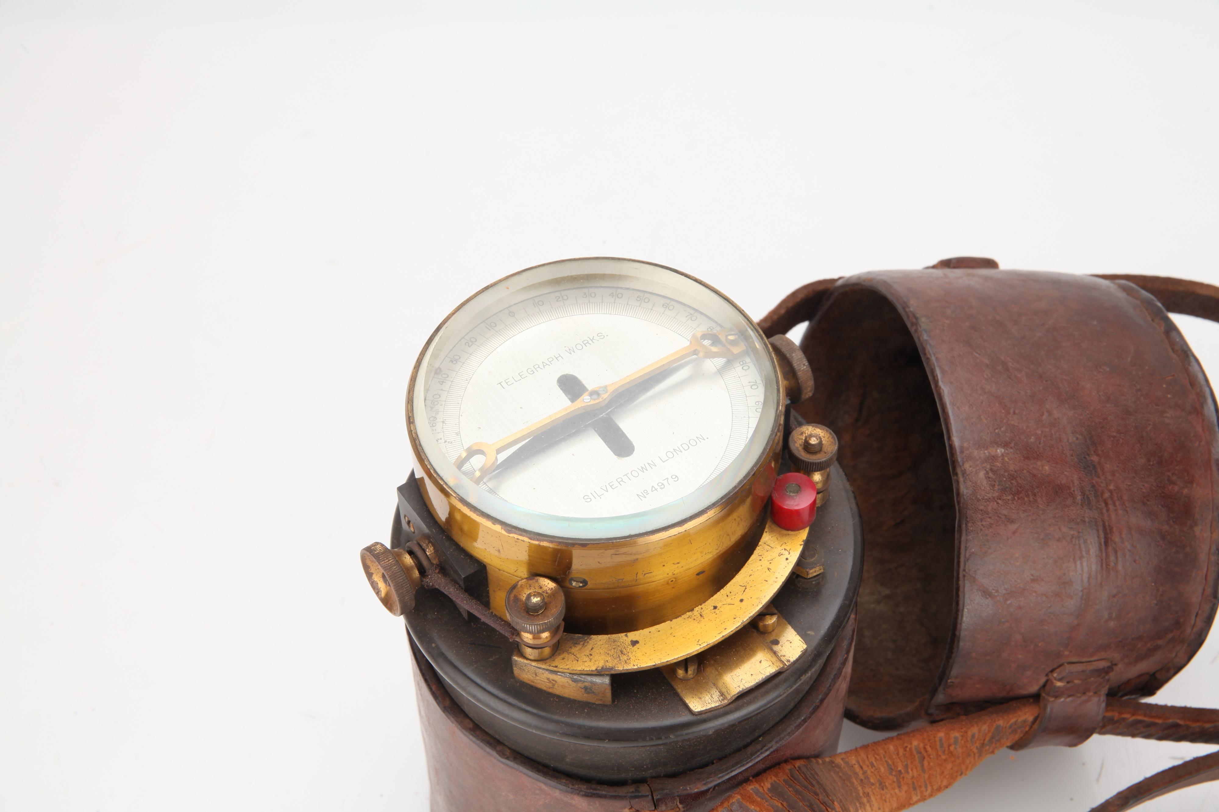 A Telegraph Line Test Galvanometer, - Image 2 of 3