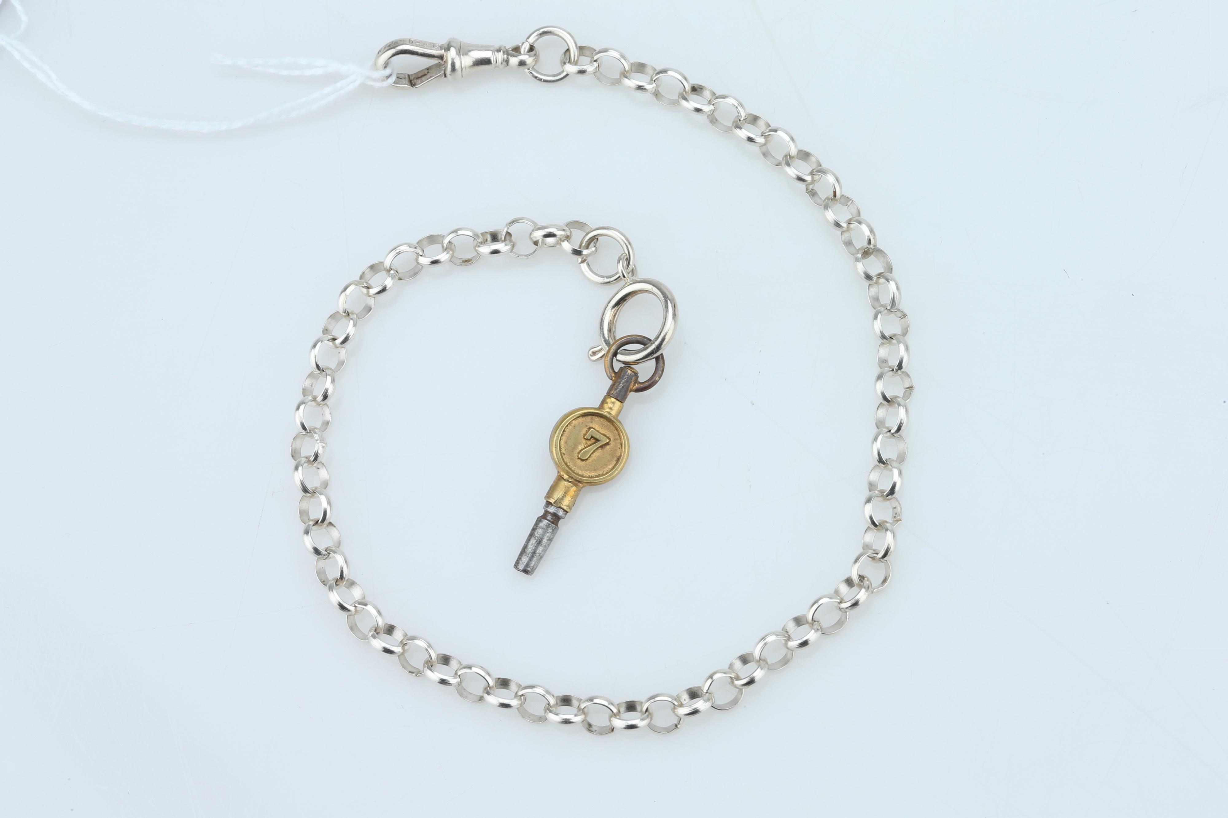 A Pocket Watch Chain