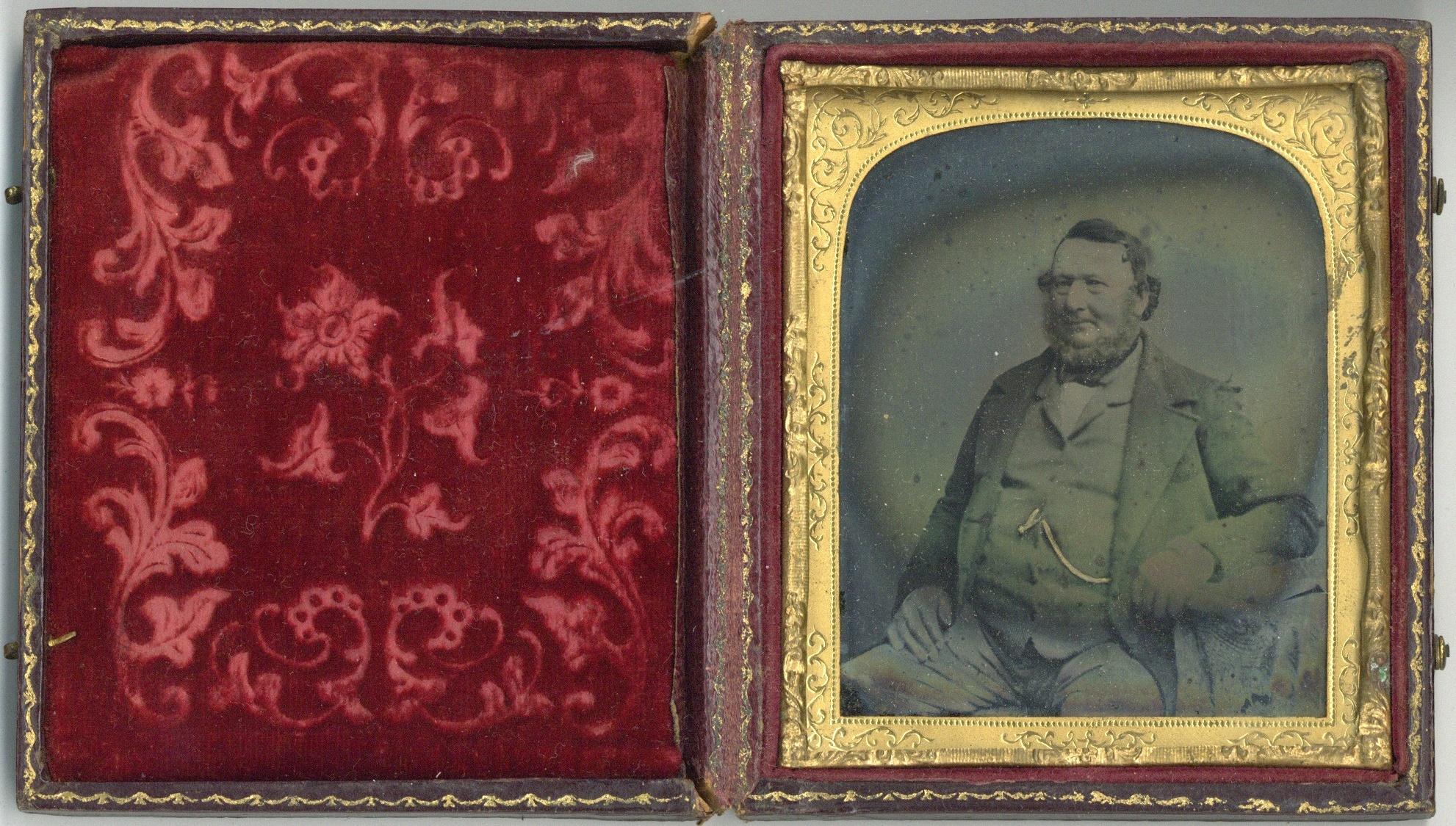 HIRAM CROMPTON BOOTH (1825-1890), An Opalotype Photograph, - Image 5 of 7