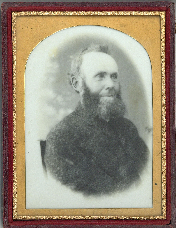 HIRAM CROMPTON BOOTH (1825-1890), An Opalotype Photograph,