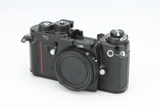 A Nikon F3 SLR Body,