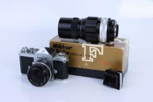 A Nikon F Plain Prism SLR Camera,