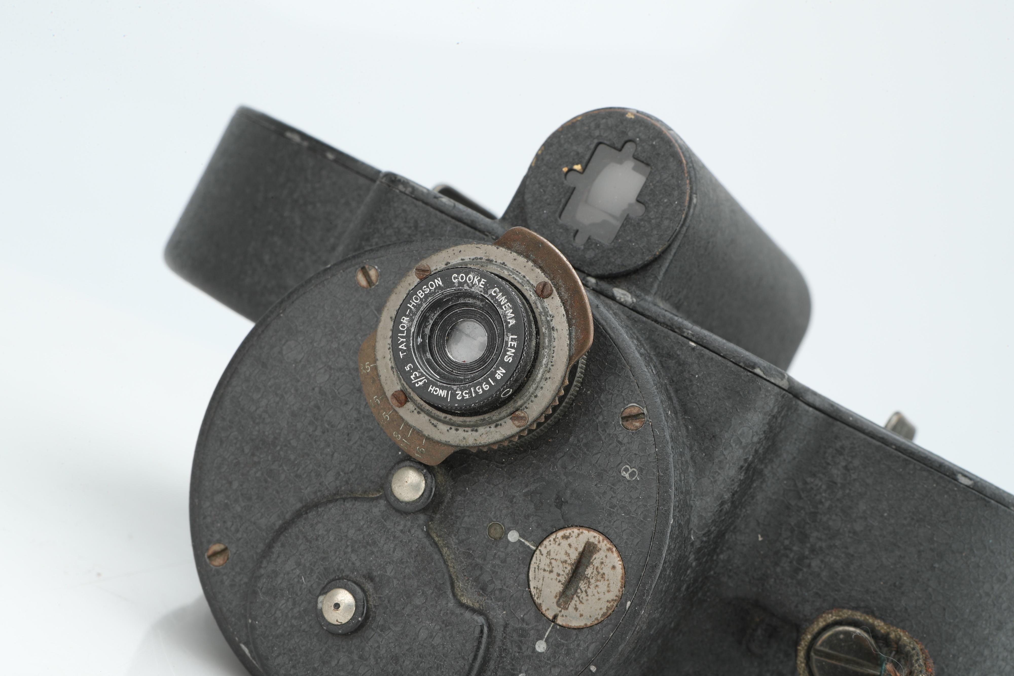 A Bell & Howell Filmo 70 Cine Camera, - Image 2 of 2