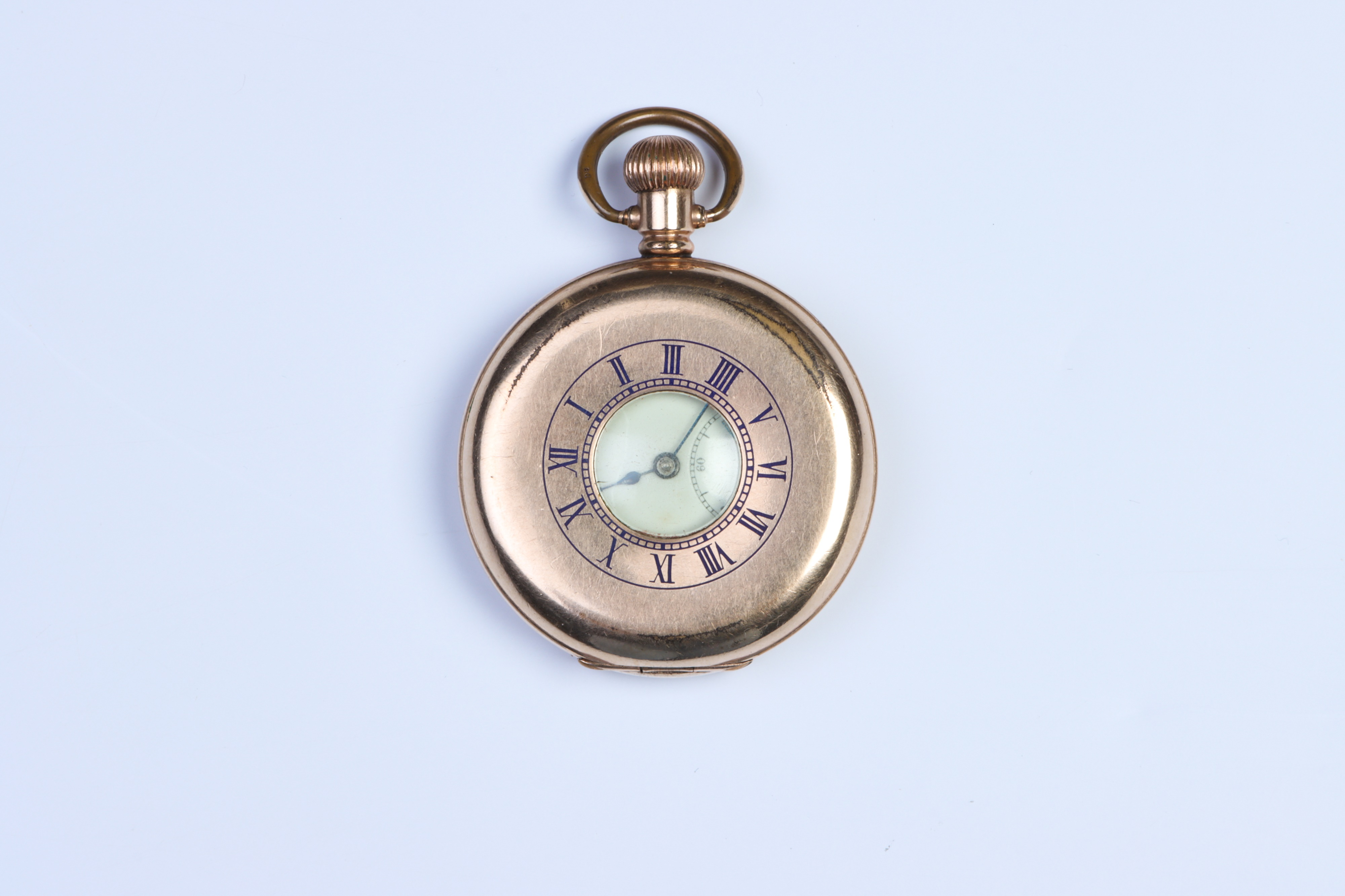 A Half-Hunter Pocket Watch, - Image 2 of 5