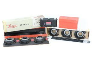 Three Leica Copy Accessories,