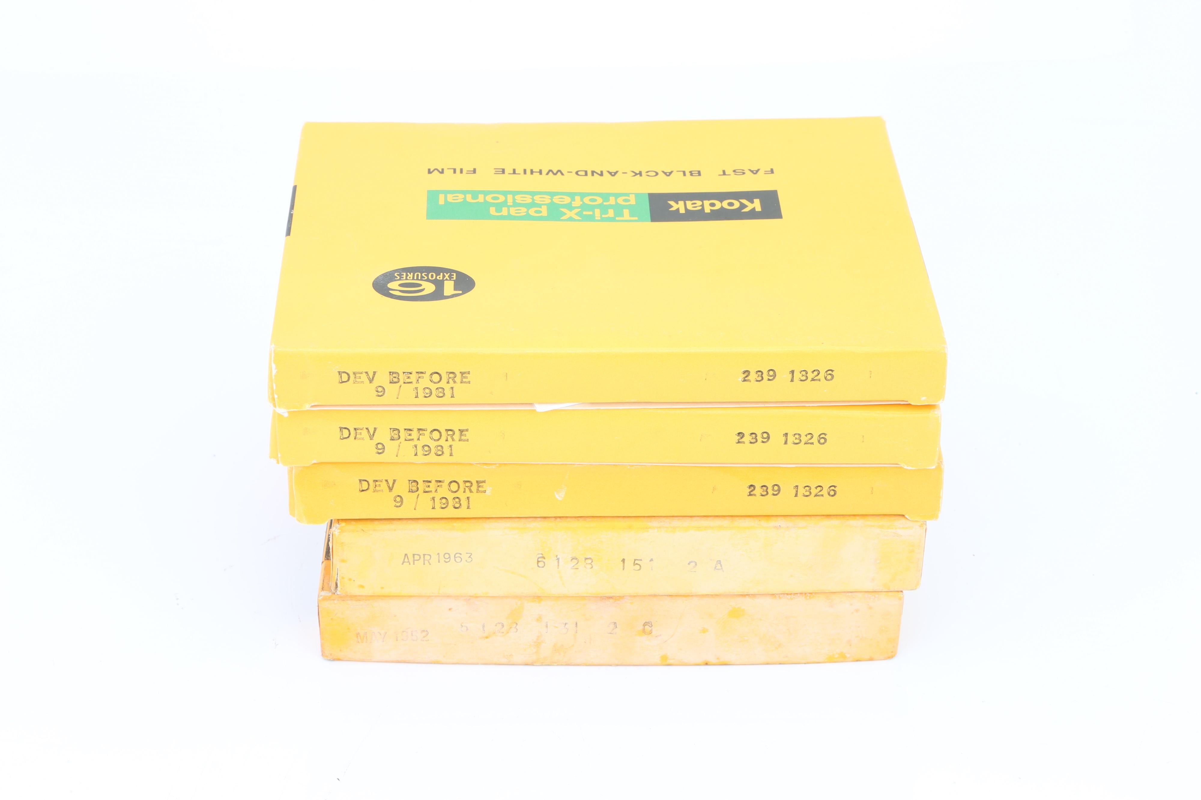 Five BOxes of Kodak 4x5' Sheet Film, - Image 2 of 2