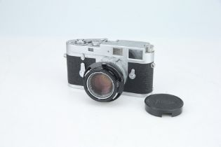 A Leica M2 Rangefinder Camera,