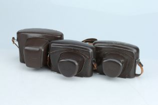A Selection of Three Leica Ever Ready Cases,