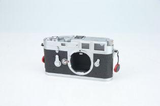 A Leica M3 Rangefinder Body,
