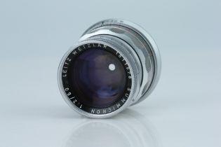 A Leitz Summicron 50mm f/2 Lens,