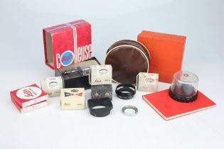 A Selection of Camera Accessories,