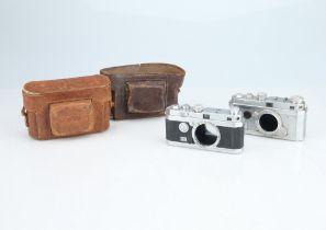 Two Foca 35mm Rangefinder Cameras,