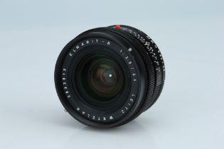 A Leitz Elmarit-R 24mm f/2.8 Lens,