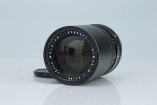 * A Leitz Elmar-R 180mm f/4 Lens,