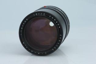 A Leitz Elmarit-R 135mm f/2.8 Lens,