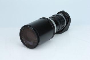 A Leitz Telyt 400mm f/5 Telephoto Lens,