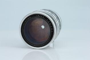 A Leitz Summicron 90mm f/2 Lens,