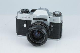 * A Leitz Leicaflex SL 35mm SLR,