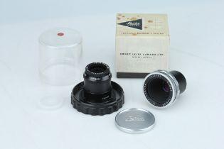 A Leitz Elmar 65mm f3.5 Lens,