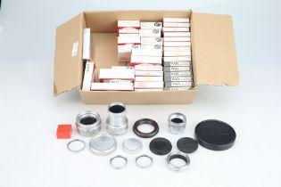 A Large Selection of Leitz Filters and Accessories,