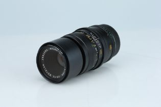 A Leitz Macro Elmar R 100mm f/4 Lens,