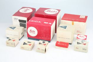 A Selection of Empty Leitz Boxes,
