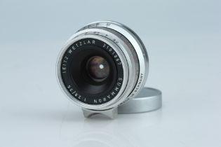 A Leitz Summaron f/2.8 35mm Lens,