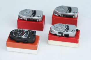 A Selection of Four Leica Meters,