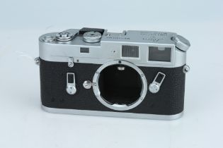 A Leica M4 Rangefinder Body,