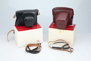Two Boxed Leica Ever Ready Cases,