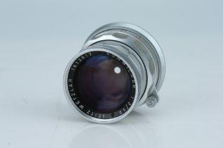 A Leitz Summicron f/2 50mm Lens,