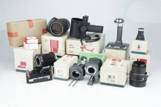 A Good Selection of Leitz Copy and Telephoto Attachments,