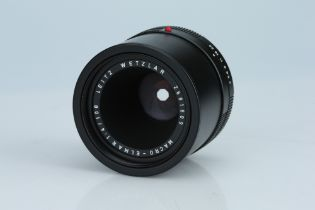 A Leitz Macro-Elmar 100mm f/4 Lens,