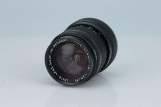 * A Leitz Tele-Elmarit-M 90mm f/2.8 Lens,