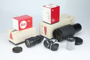 A Selection of Leitz Accessories,