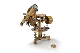 A Geodetic Theodolite by Ponthus & Therrode,