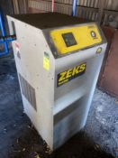 ZEKS MODEL CFX 250GSGA400 REFRIGERATED AIR DRYER S/N 255430N