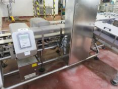 TWIN LANE COMBI SYSTEM COMPRISING CEIA METAL DETECTORS/IXAPACK CHECKWEIGHERS.