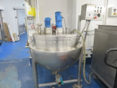 JACKETED VESSEL.