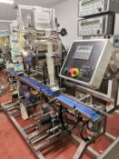 SOVEREIGN TWIN TOP AND TWIN BOTTOM LABELLER.