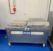 MULTIVAC C500 DOUBLE CHAMBER VAC PACKER.