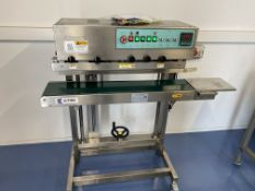 BRAND NEW CONTINUOUS BAG SEALER.