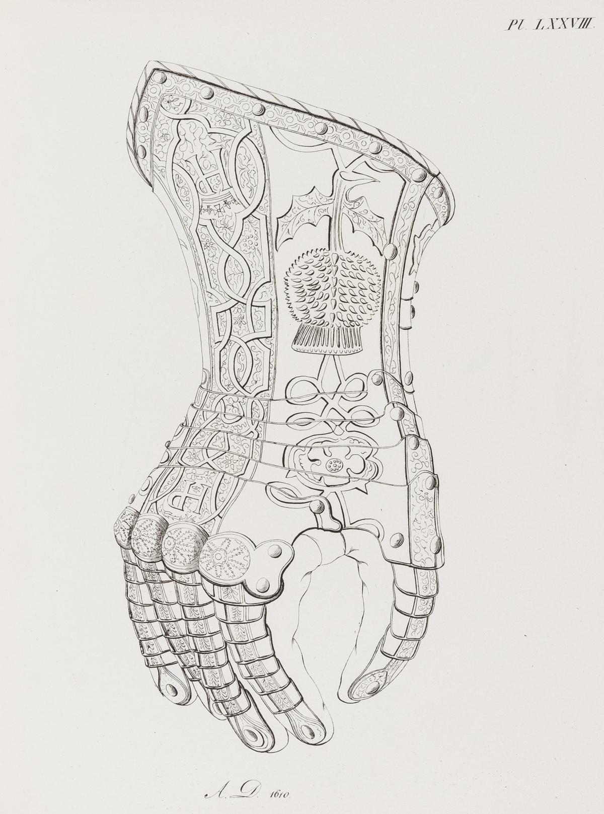 Arms and Armour.- Meyrick (Sir Samuel Rush) Abbildung und Beschreibung von alten Waffen und …