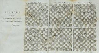 Polish Draughts.- Lallement (J.G.) Les Quatre Jeux de Dames, Polonais, Egyptien, -Echecs, et a …
