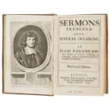 Barrow (Isaac) Sermons Preached Upon Several Occasions, The Second Edition, ink ownership …