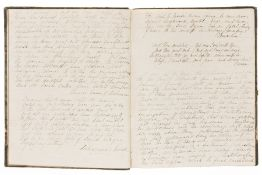 Commonplace Book.- T. (M.J.) Scrap Book written... For the especial amusement of J.A.C., …