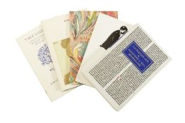 Hill (Jonathan A.) Catalogues 1-200, with Index vol. for 1-100 & 1-200, original wrappers, Los …