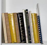 Rousseau & Voltaire.- Dufour (Théophile) Recherches Bibliographiques sur les Oeuvres Imprimées de …